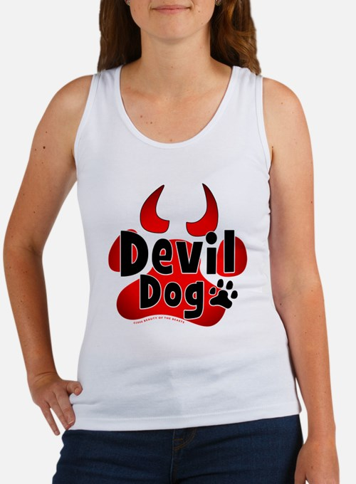 Devil Dog Women's Tank Top