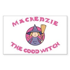 Mackenzie The Good Witch Rectangle Decal