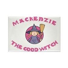 Mackenzie The Good Witch Rectangle Magnet