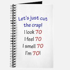 Cut the crap 70 Journal