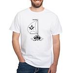 Masonic Sailing White T-Shirt