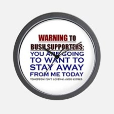 You'll want to STAY AWAY Wall Clock