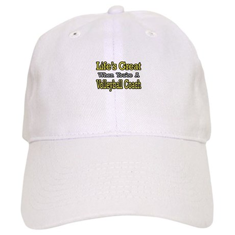 """""""Great...Volleyball Coach"""" Cap"""