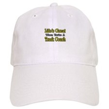 """Life's Great...Track Coach"" Baseball Cap"