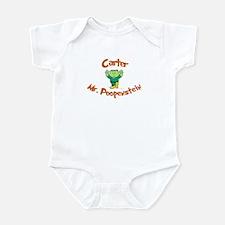 Carter - Mr. Poopenstein Infant Bodysuit
