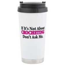 Crocheting Thermos Mug
