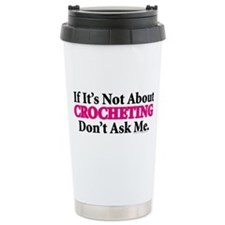 Crocheting Travel Mug