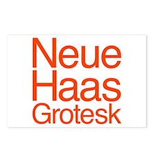 Neue Haas Grotesk Postcards (Package of 8)