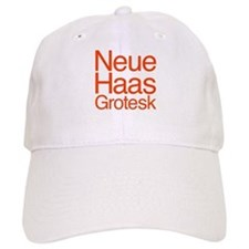 Neue Haas Grotesk Baseball Cap