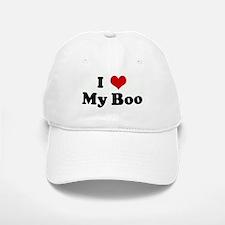 I Love My Boo Baseball Baseball Cap
