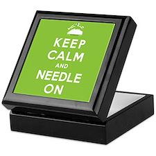 NEEDLE ON Keepsake Box