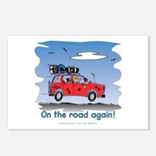 On the Road Again - Bright Sky Postcards (Package