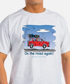 On the Road Again - Bright Sky T-Shirt