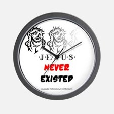 Jesus Never Existed Wall Clock