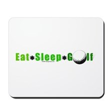 Eat*Sleep*Golf Mousepad
