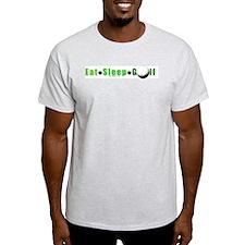 Eat*Sleep*Golf T-Shirt