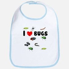 I Love Bugs (Bib)