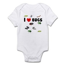 I Love Bugs (Infant Bodysuit)