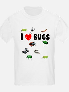 I Love Bugs (T-Shirt)