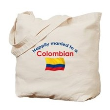 Happily Married Colombian 2 Tote Bag