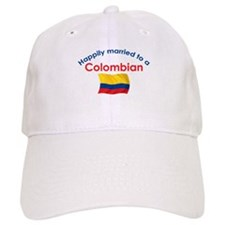 Happily Married Colombian 2 Baseball Cap