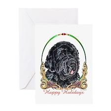 Newfoundland Happy Holidays Greeting Card