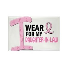 I Wear Pink For My Daughter-In-Law 21 Rectangle Ma