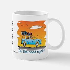 On the Road Again - At Sunset Mug