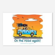 On the Road Again - At Sunset Postcards (Package o