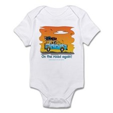 On the Road Again - At Sunset Infant Bodysuit
