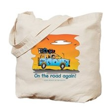 On the Road Again - At Sunset Tote Bag