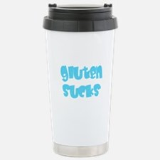 Gluten Sucks Travel Mug