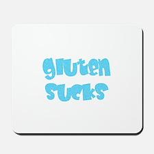 gluten sucks Mousepad