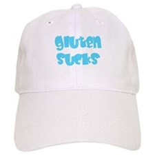 gluten sucks Baseball Cap
