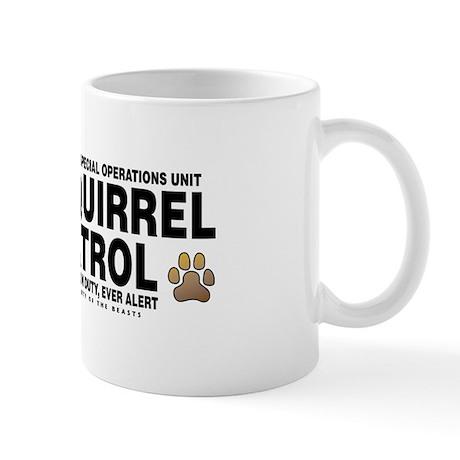 Squirrel Patrol Mug