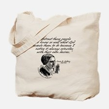 Susan B. Anthony Tote Bag