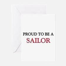 Proud to be a Sailor Greeting Cards (Pk of 10)