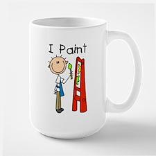 I Paint Large Mug