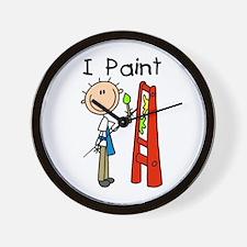 I Paint Wall Clock