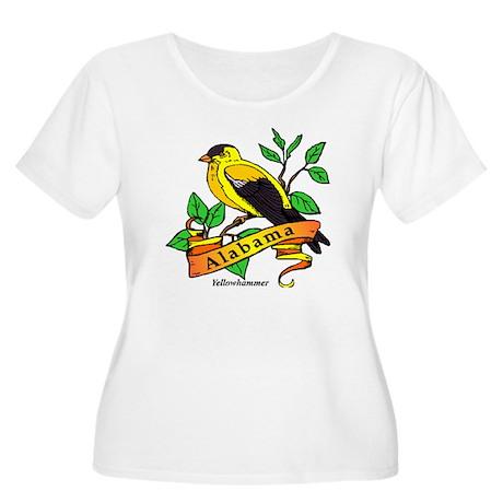 Alabama State Bird Women's Plus Size Scoop Neck T-