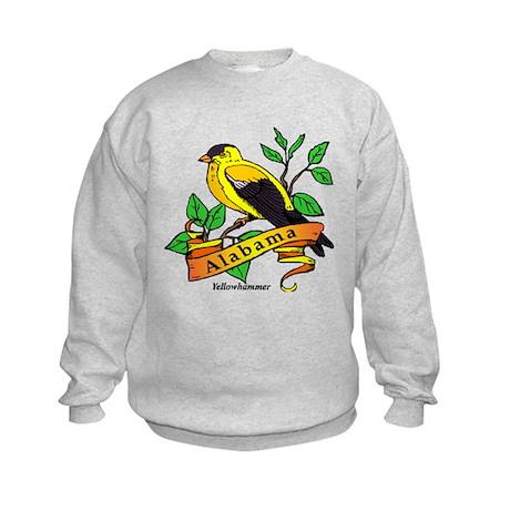 Alabama State Bird Kids Sweatshirt