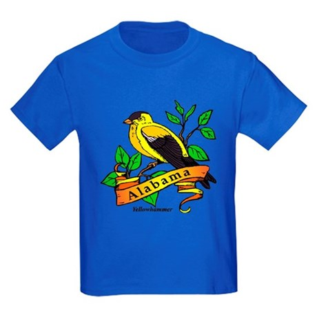 Alabama State Bird Kids Dark T-Shirt