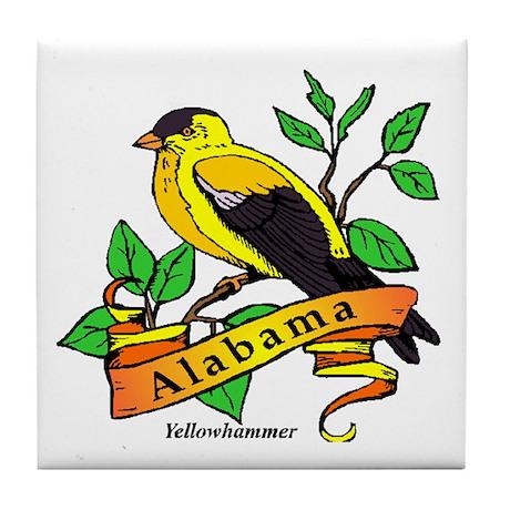 Alabama State Bird Tile Coaster