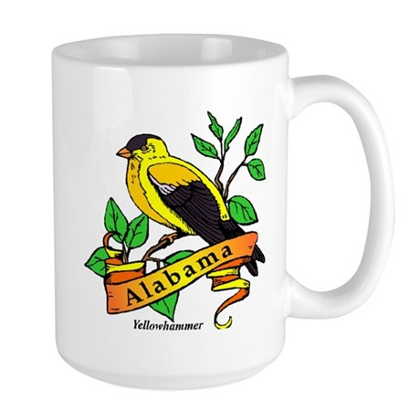 Alabama State Bird Large Mug