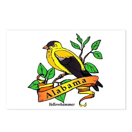 Alabama State Bird Postcards (Package of 8)