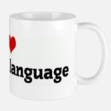 I Love figurative language Mug