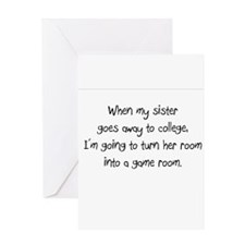 sister college Greeting Card