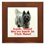 Look Toto! We're back in Viet Framed Tile