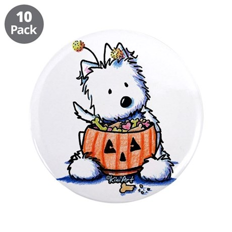 "Hallowestie 3.5"" Button (10 pack)"