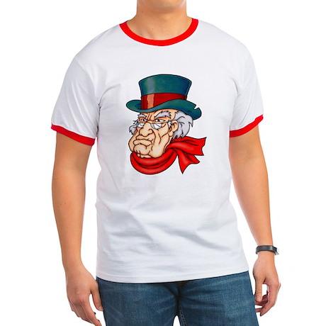 Mean Old Scrooge Ringer T